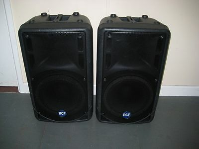 RCF ART 322A – 12″ Active Speaker 400w Rms – Pair Of – Good Condition