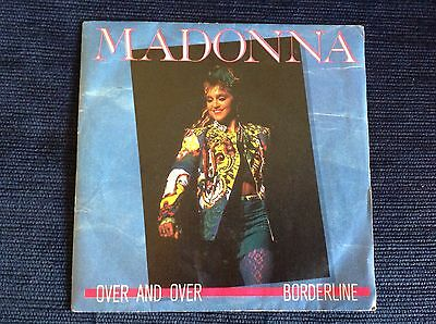 MADONNA OVER AND OVER Very Rare 1985 Italy 45 Great UNPLAYED Copy