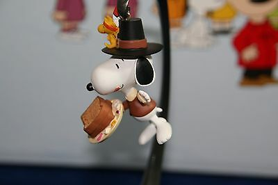 Peanuts Snoopy Hallmark Keepsake Ornament A Thanksgiving Feast 2012 Nib