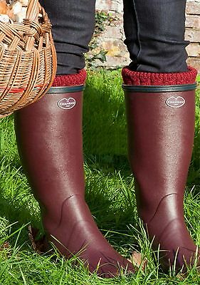 Le Chameau Giverny Cherry Wellies *FREE POST*