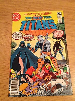 DC New Teen Titans #2   1st Appearance Of Death stroke