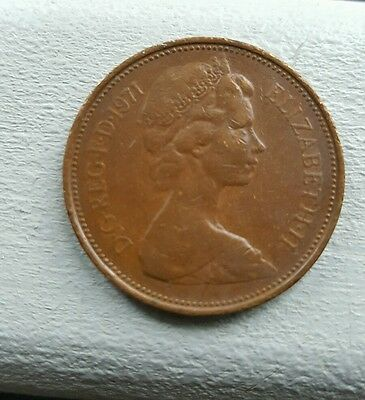 2p coin 1971 - New Pence