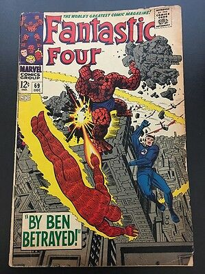 Fantastic Four Vol 1 # 69 Cents Issue, Silver Age