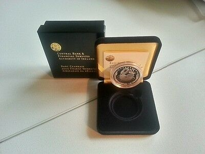 Ireland 2004 €10 Celtic Swan Silver Proof Coin