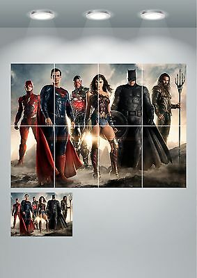 A4 Sections or Giant 1 Piece DC/'s Legends of Tomorrow Wall Art Poster Print A3