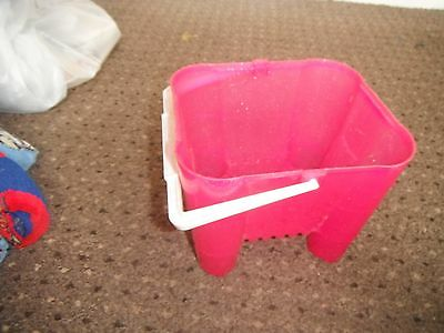 Pink Sandcastle Bucket For the Beach