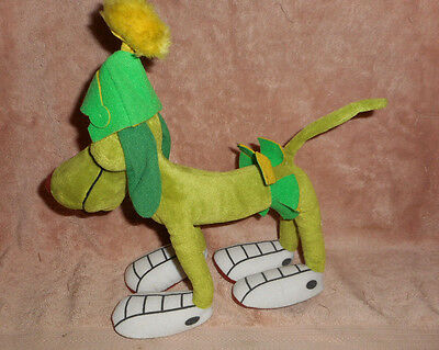 214--Marvin the Martian K9 GREEN Dog Plush  Looney Tunes APPLAUSE Standing on 4