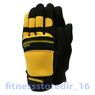 Town & Country Ultimax Yellow Gardening Gloves - Heavy Duty - Thorn Protection