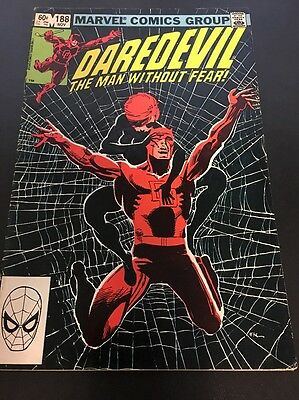 Daredevil  #188 Vol 1 1982 Marvel Comics Bronze Age