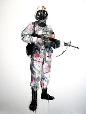 Antony Micallef Peace Keeper Signed Limited Edition Print Unframed.