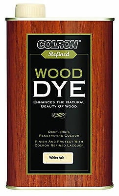 Colron Refined Wood Dye Choices Of Colours 250Ml