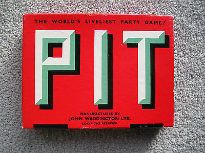 Vintage Waddingtons Pit Game