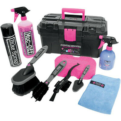 Muc-Off Ultimate Bike Cleaning Kit - Pflege Reinigungs Set für Motorrad Quad Atv