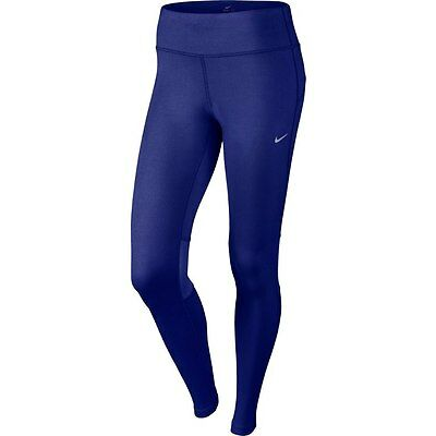 Nike Epic Run Tight Fit Ladies Long Running Tights Leggings Size Small UK 8-10