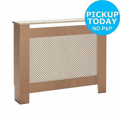 HOME Odell Unfinished Radiator Cover - Small. From the Argos Shop on ebay