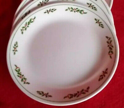 Corelle Holly Days Dinner Plate Corning Ware Replacement Christmas Holiday