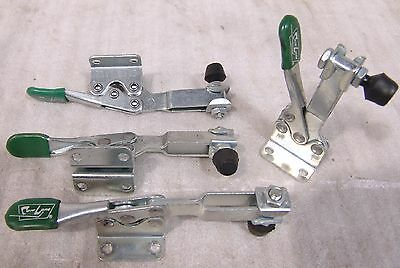 (4) Toggle clamps Carr Lane CL-350-HTC