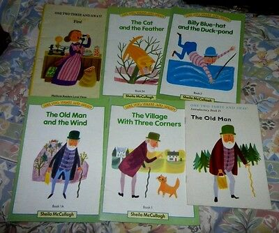 Hart-Davis Educational Sheila McCullagh One Two Three and Away! Books x 6 Vintag