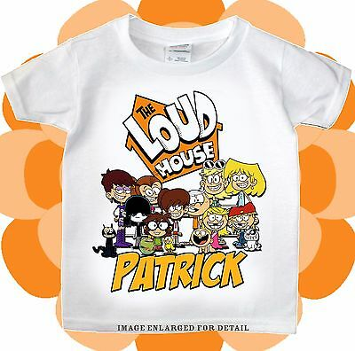 The Loud House T-shirt Personalize Birthday tee