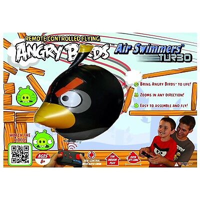 Air Swimmers Angry Birds - Schwarz - funkferngesteuert - Play and have Fun !