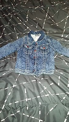 veste jeans  fille orchestra taille 5 ans