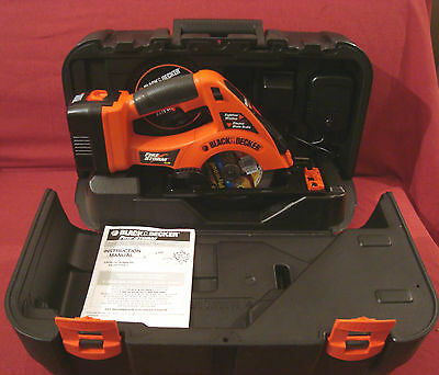 Black And Decker New Unused Fire Storm 14.4 Volt Cordless Circular Saw