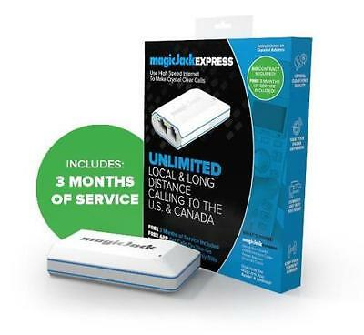 magicJack EXPRESS Digital Phone Service K1103E (Includes 3 months of service)