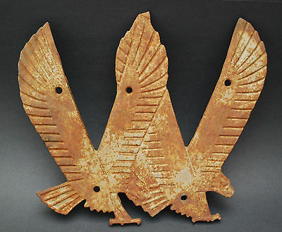 Vintage Cast Iron Wean Steel Youngstown Ohio Double Eagle Architectural Salvage