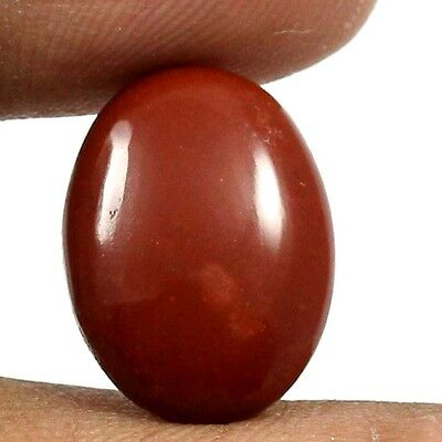 8.90 cts 100% Natural Untreated Red Jasper Gemstone Oval Shape Loose Cabochon