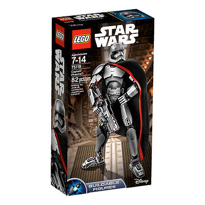 "Lego Star Wars ""Captain Phasma"" Buildable Figure Set No.75118 (Sealed)"