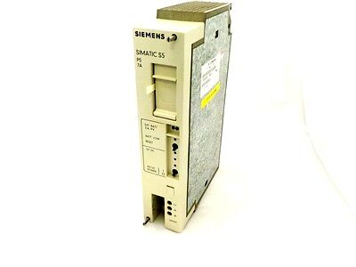 Siemens 6Es5951-7Nd21 Power Supply 7Amp 24Vdc E/stand 06