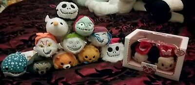 Lot 13 peluches tsum tsum