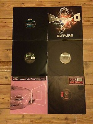 Baby D Collection. 6 Records from 1994-1996
