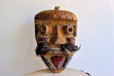 Bete mask, tribal used from Ivory Coast, West Africa