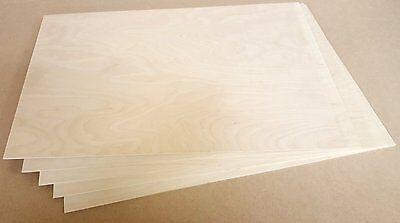 300x500 3mm Birch PLywood for laser cutting, engraving, Pyrography, 10 sheets