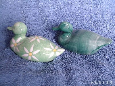Pair of Duck Ornaments