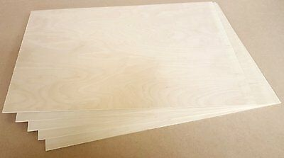 300x500 3mm Birch PLywood for laser cutting, engraving, Pyrography, 25 sheets
