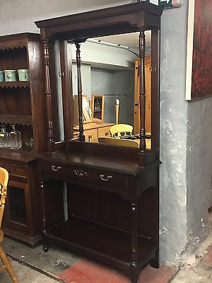 Traditional Style Mahogany Hall Stand By Rossmore Furniture