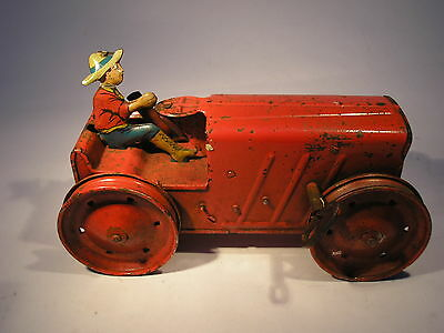 Tinplate Triang Tractor No 2