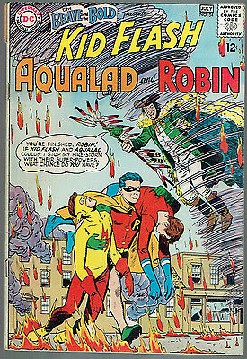BRAVE AND THE BOLD  54  VG/4.0 - 1st appearance of the Teen Titans!