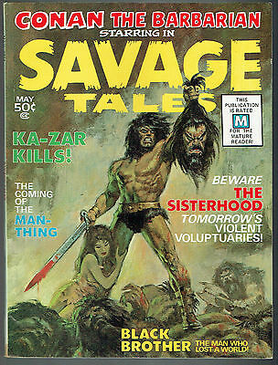 SAVAGE TALES  1  FN/6.0  -  1st appearance of the Man-Thing!
