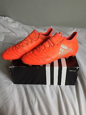 Adidas X 16.1 Leather Fg/ag Size 9UK
