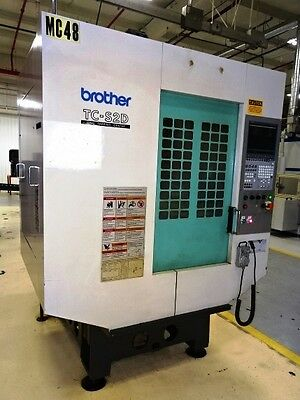 Brother Tc-S2D 5-Axis Cnc Drill Tap Vertical Machining Center