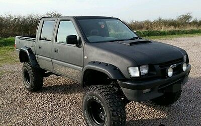 """ISUZU PICKUP MONSTER TRUCK ,CAR ,10"""" PRO LIFT AND SIDE EXHAUST buy it now £4,250"""