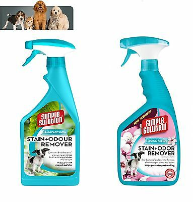 Simple Solution Stain and Odour Remover Spring Breeze  or Rainforest 750ml