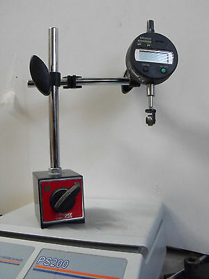 Mitutoyo Absolute digital indicator with Eclipse magnetic base