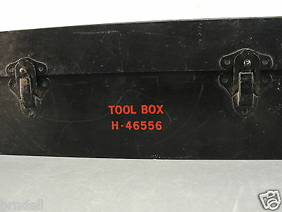 Automatic Electric General Telephone&electronics Gt&e Steel Tool Box H-46556 Vtg