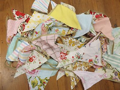 Shabby Chic Bunting...floral Inc Cath Kidston...17.5 Metres..next Day Postage