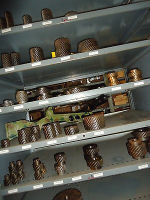 8 Pitch Left Hand Helical  Gears, mfg Union Gear, LOT SALE