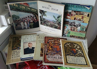 COLLECTION of Vintage ROYAL FAMILY books